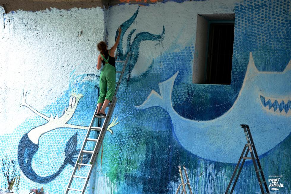 waterwall for viva con agua