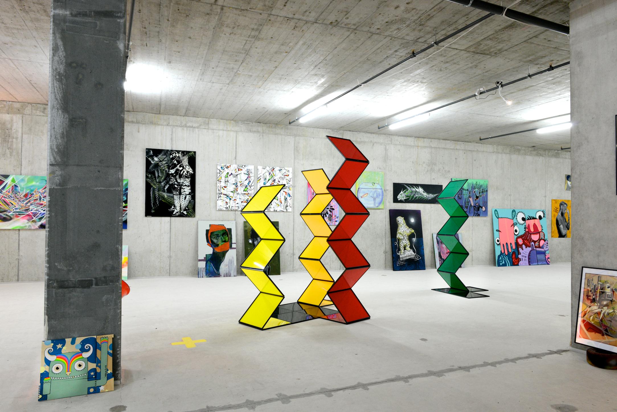 Dauerausstellung Streetart.Limited
