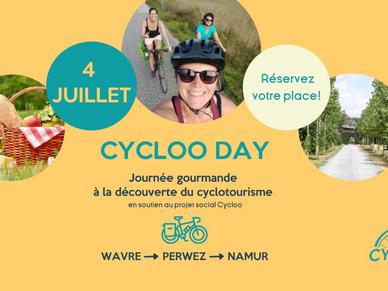 À vos agendas ! Le 4 juillet se tiendra le Cycloo Day