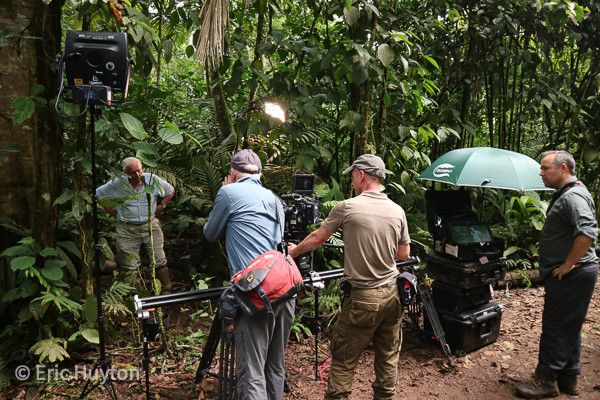 "BBC ""Green Planet"" with David Attenborough in Costa Rica"