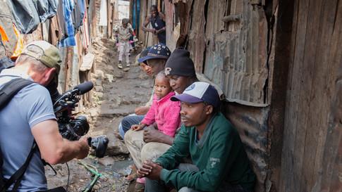 Kibera slums, Nairobi