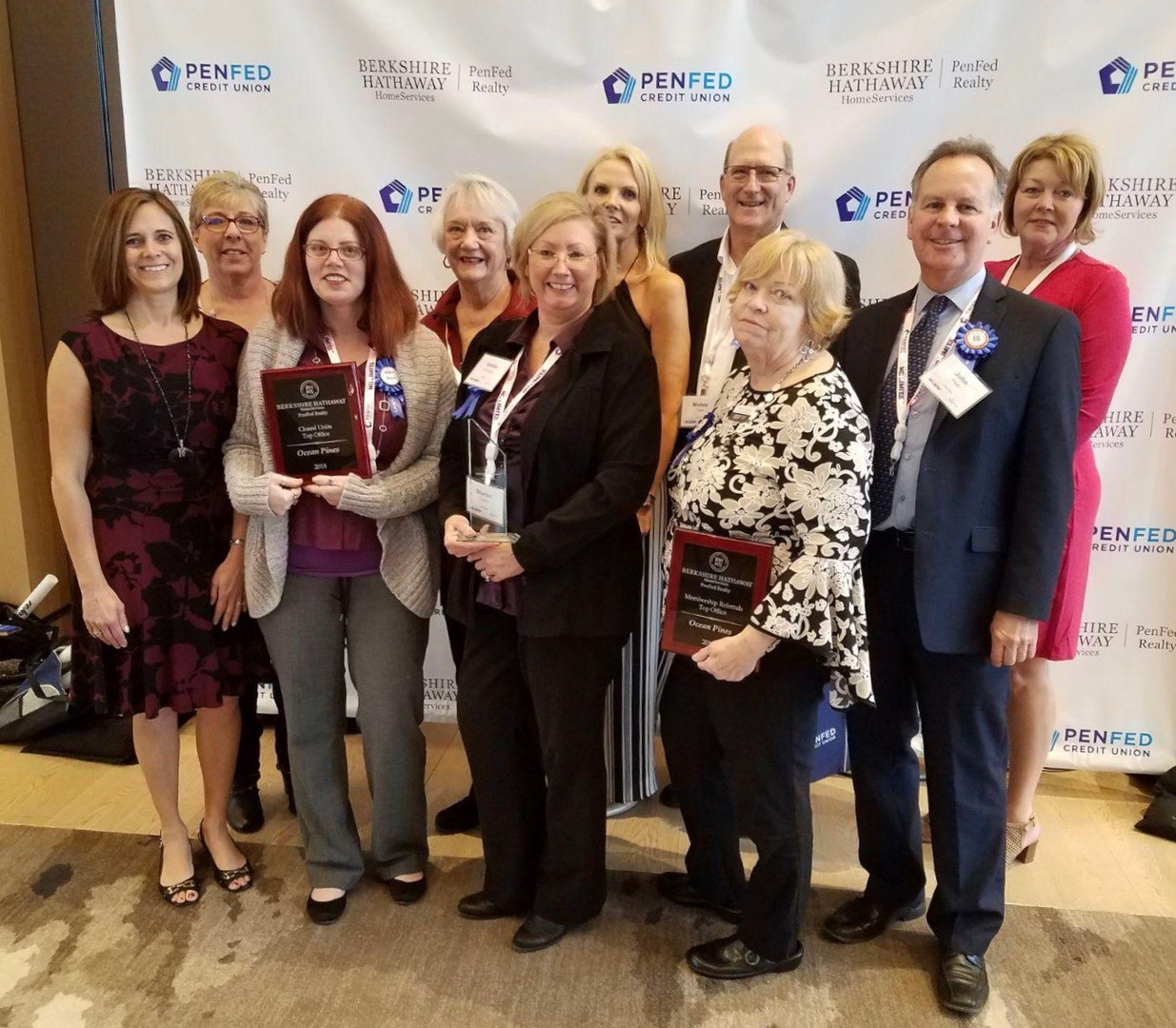 ocean pines office at 2019 award ceremon
