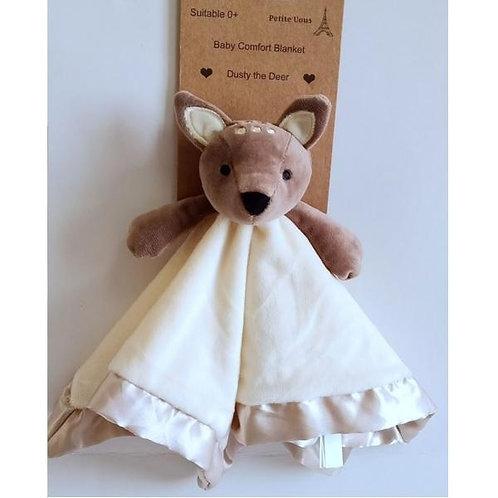 Petite Vous Baby Comfort Blanket - Dusty the Deer