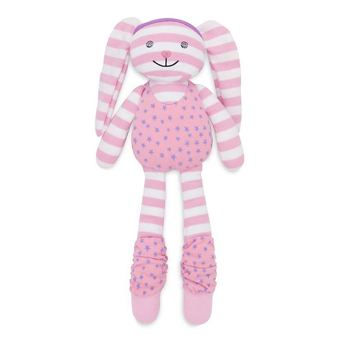 Apple Park Hip Hop Bunny Organic Soft Toy