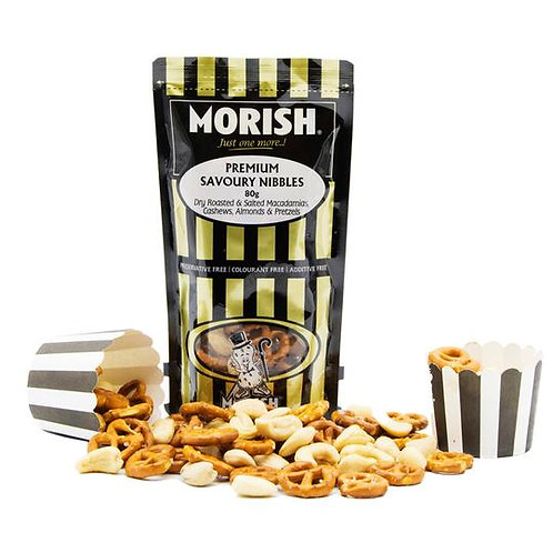 Morish Nuts Savoury Nibbles Mix (80g)