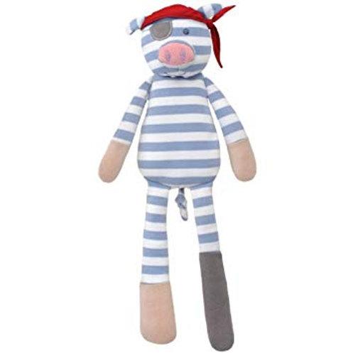 Apple Park Pirate Pig Organic Soft Toy