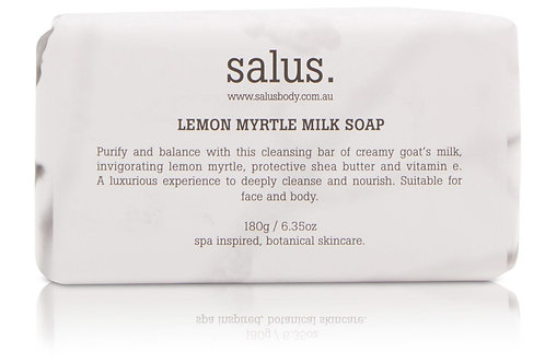 Salus Lemon Myrtle Milk Soap