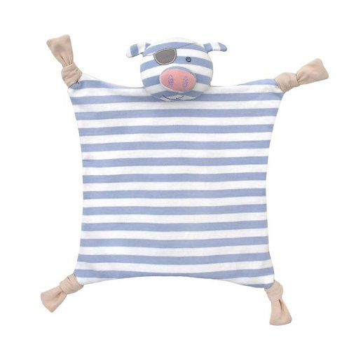 Apple Park Pirate Pig Organic Comforter