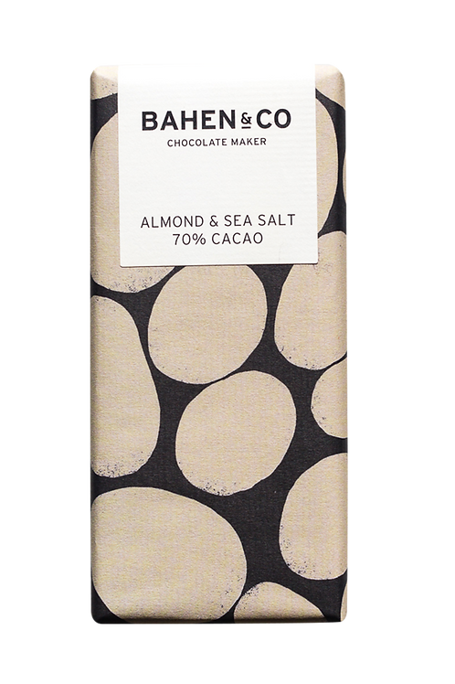Bahen and Co Chocolate Almond and Sea Salt