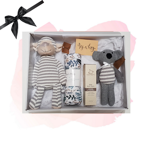 Knitted Toys Hamper