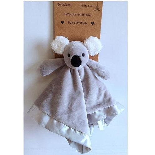Petite Vous Baby Comfort Blanket - Banjo the Koala