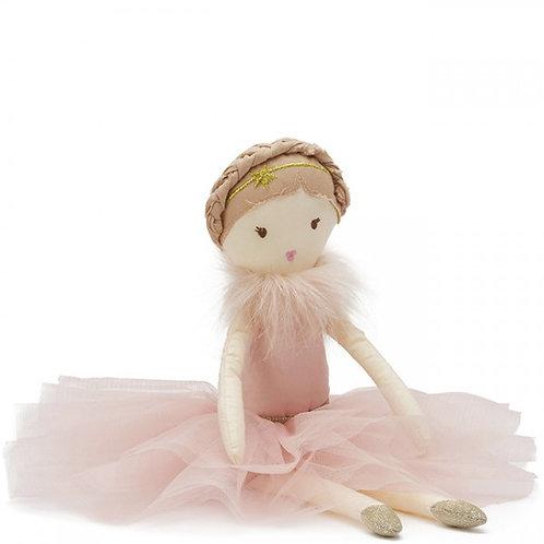 Nana Huchy Miss Rosey Pink Ballerina Rag Doll