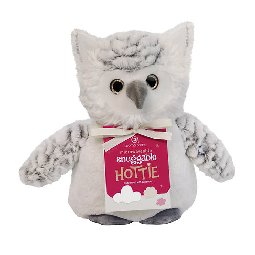 Aroma Home Heat Pillow - Snow Owl