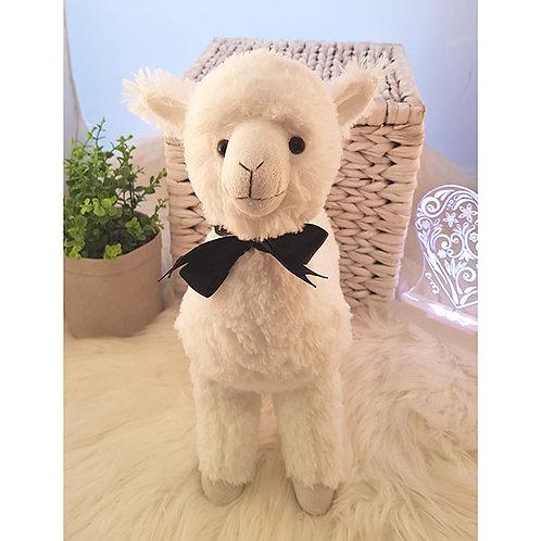 Petite Vous White Llama Soft Toy