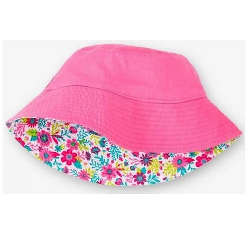 Hatley Sunhat Wallpaper Flowers