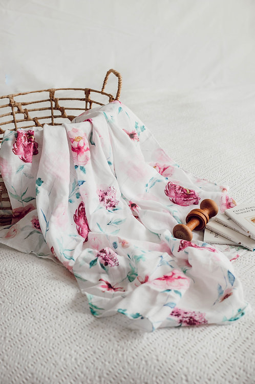 Snuggle Hunny Organic Muslin Wrap - Wanderlust