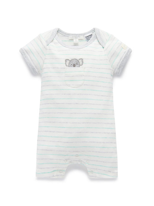 Pure Baby Peekaboo Koala Short Growsuit Size 000