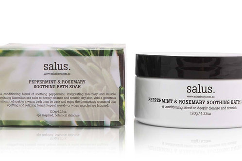 Salus Peppermint & Rosemary Soothing Bath Soak 500g