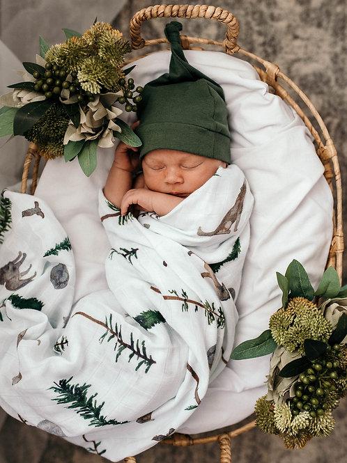 Snuggle Hunny Organic Muslin Wrap - Alpha