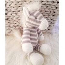 Petite Vous Grey Stripe Horse