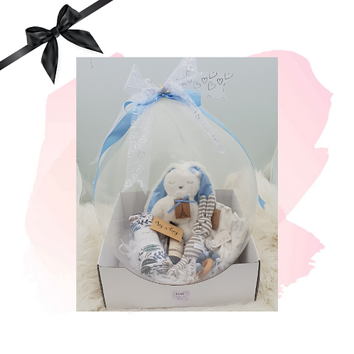 Luxe Gift Balloon Flat Bunny