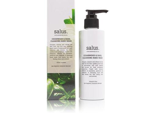 Salus Cedarwood & Basil Cleansing Hand Wash 195ml