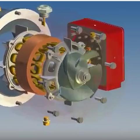 Class 334 Main Transformer Oil Pump