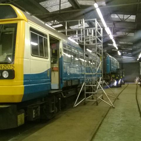 Class 142 Roof Pod