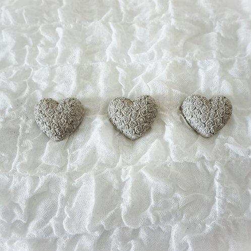 Herz mit Rosenmuster klein