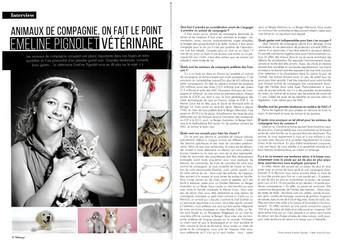 Interview du docteur vétérinaire Emeline Pignolet - Télémag+