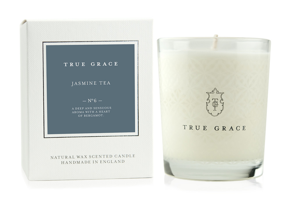 True Grace candles now in stock at Moonflower Cobham Florist