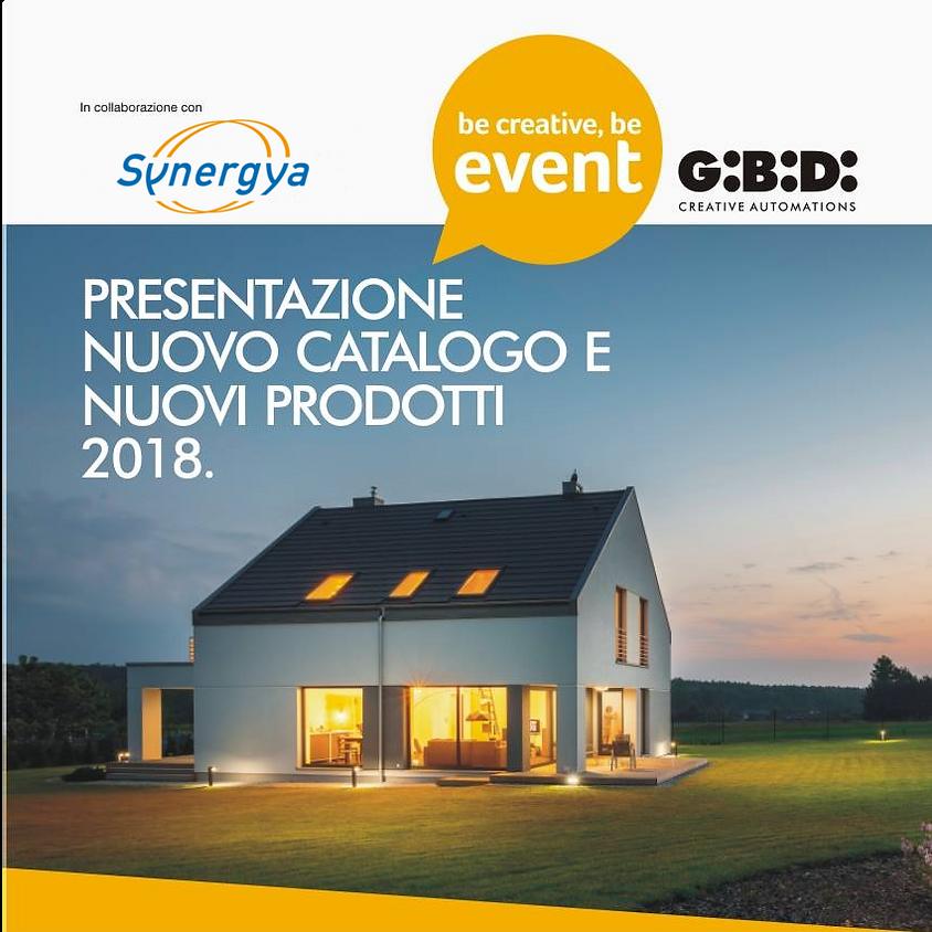 Presentazione nuovo catalogo e nuovi prodotti 2018 GI.BI.DI.