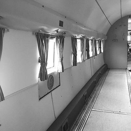 Douglas DC-3 interior view