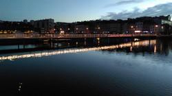 Passerelle sur bassin - Cherbourg
