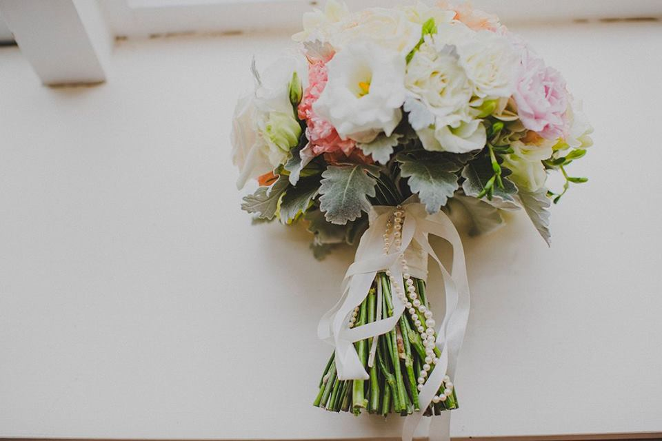 pretty wedding bouquet