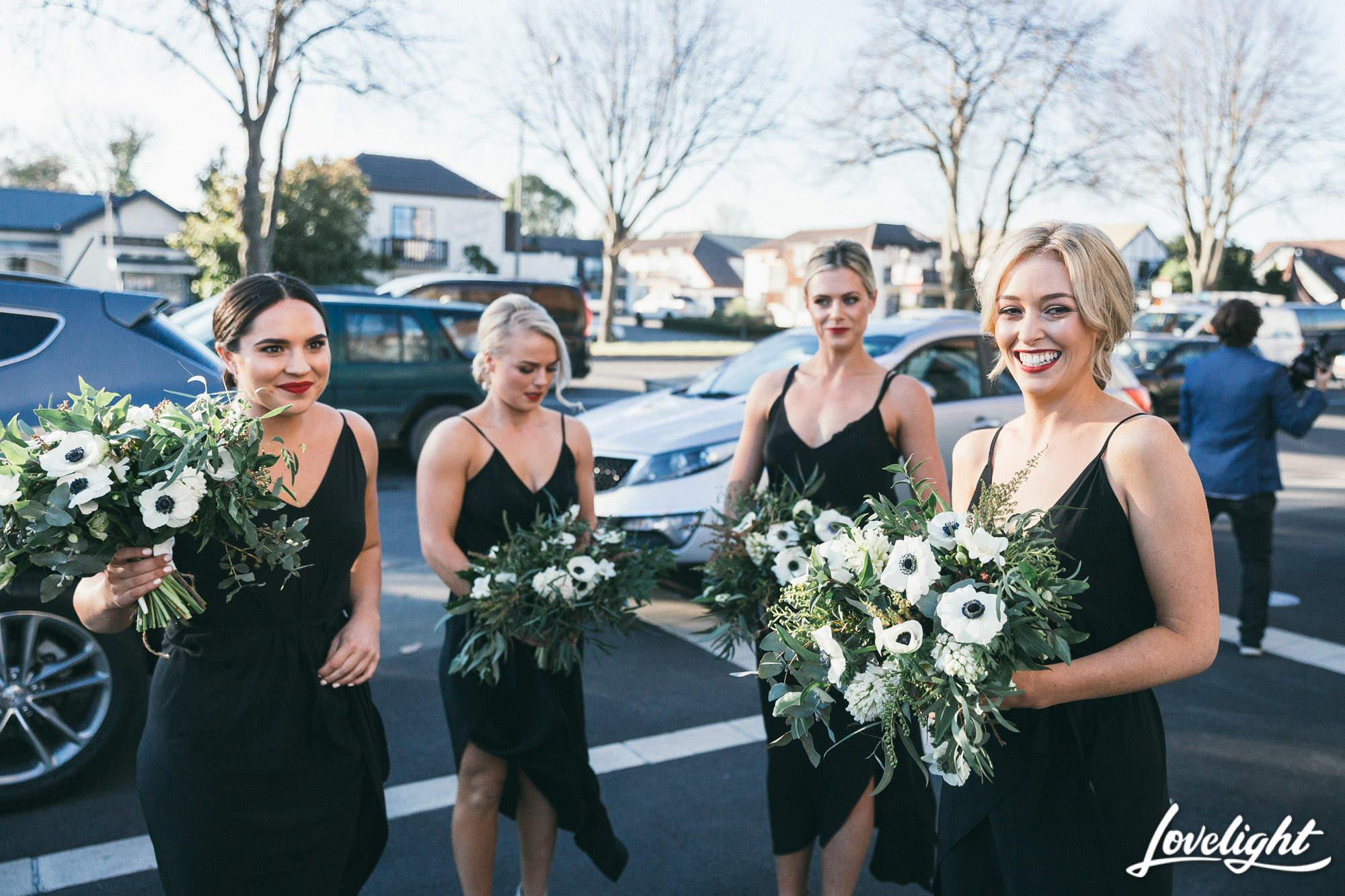 bridesmaid posies