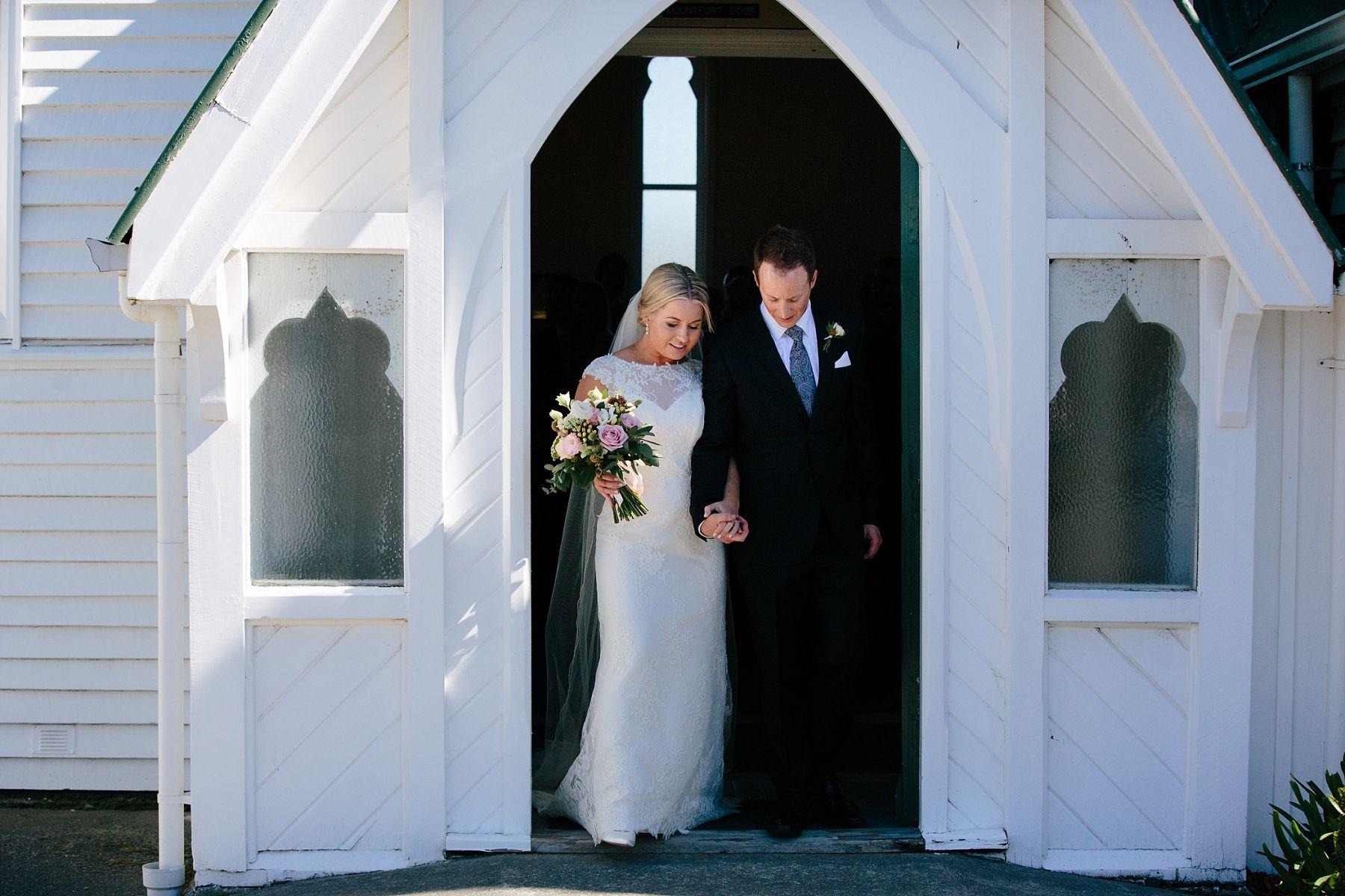 church wedding posy