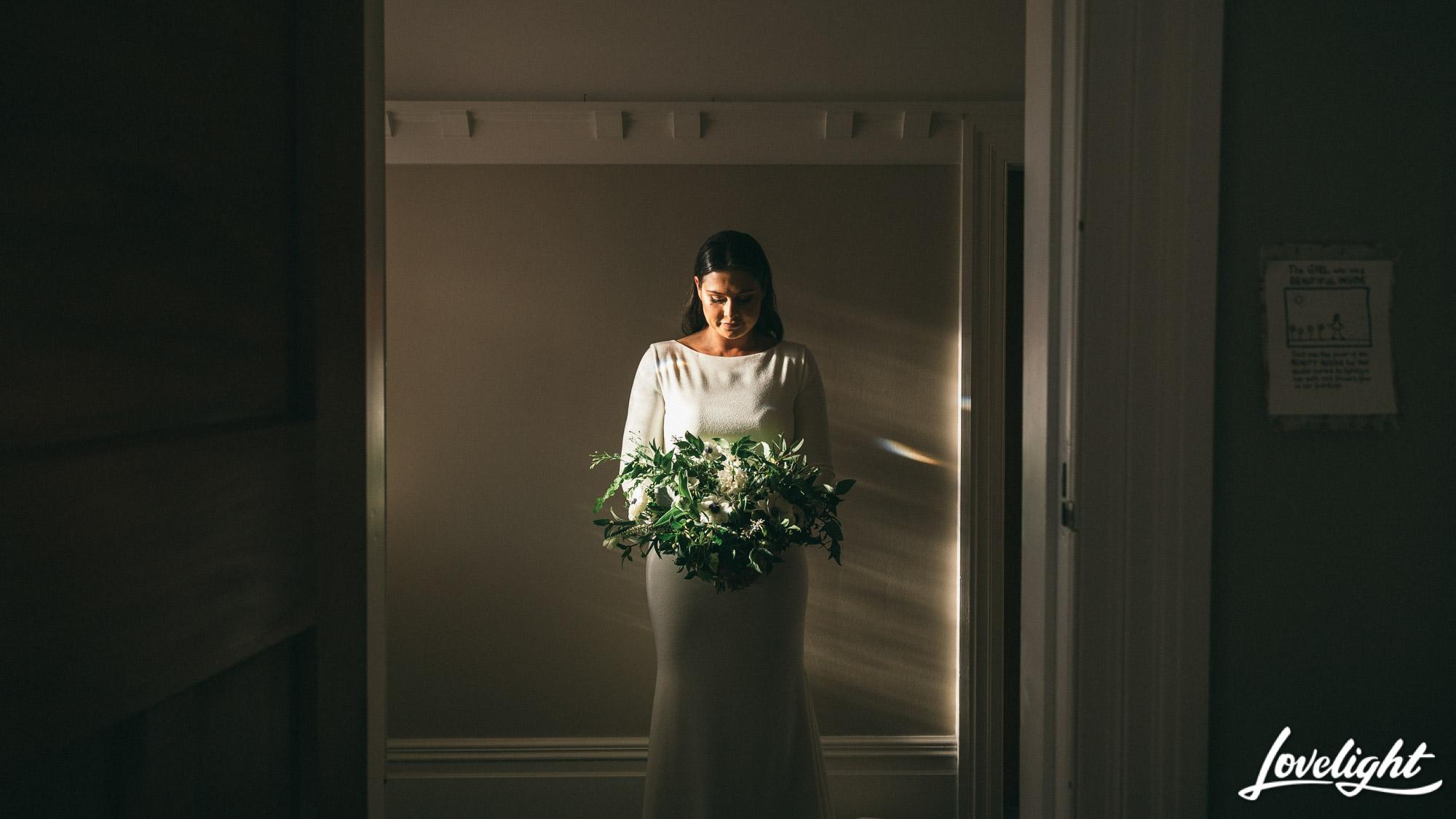 botanical wedding bouquet