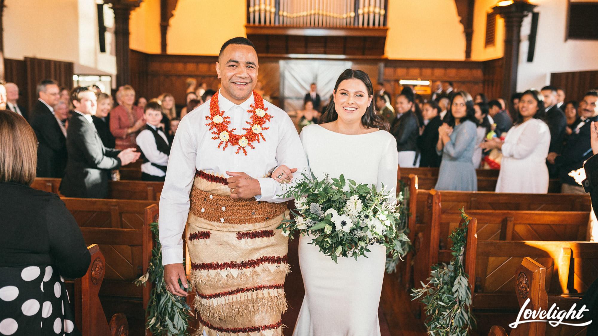 foliage inspiration bride and groom