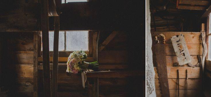 rustic wedding posy