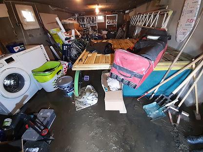 catastrophes naturelles - mobilier - boue