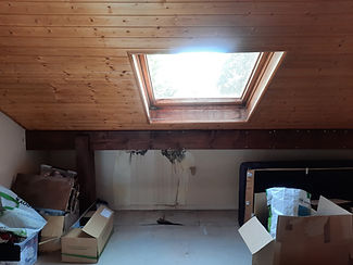 infiltration toiture inclinée