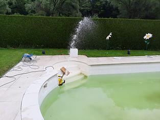 fuite piscine