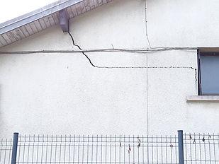 fissures en façade