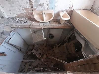 effondrement de structure
