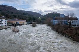Crue du Doubs - Pont-de-Roide-Vermondans