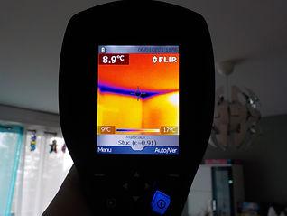 condensation caméra thermique