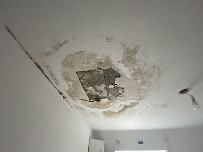 dégâts des eaux plafond