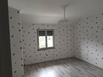 chambre papier peint