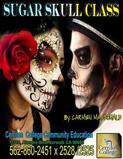 Sugar Skull at ELAC/Cerritos College